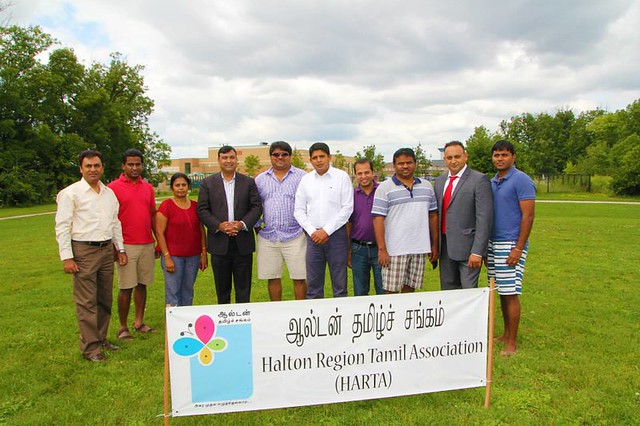 Tamil Community Barbeque event