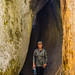 Granite gap, Judy for scale