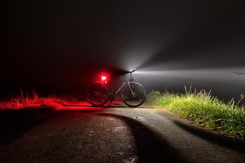 Foggy night tour