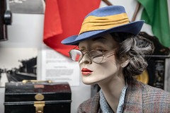 Mannequin (Howie Mudge LRPS BPE1*) Tags: mannequin doll hat glasses museum aberystwyth ceredigion wales cymru uk nikon nikond500 sigma1750mmf28os