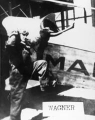 air mail collection image (San Diego Air & Space Museum Archives) Tags: aviator airmailpilot reubenwagner wagner usairmail airmail aviation aircraft airplane biplane dehavilland dehavillanddh4 dh4 libertyengine libertyl12 liberty12