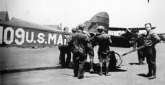 air mail collection image (San Diego Air & Space Museum Archives) Tags: usmail109 usairmail airmail aviation aircraft airplane biplane dehavilland dehavillanddh4 dh4 libertyengine libertyl12 liberty12