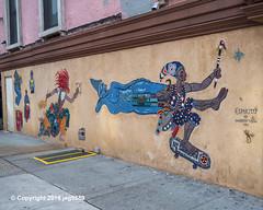 """Espiritu"" Glass Mosaic Mural (2012) by Manny Vega, East Harlem, New York City (jag9889) Tags: 2018 20181201 eastharlem glass graffiti harlem manhattan mosaic mural ny nyc newyork newyorkcity outdoor painting spanishharlem streetart tagging usa unitedstates unitedstatesofamerica jag9889"
