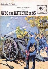 Collection Patrie - (70) - Avec une Batterie de 95 (HCLM) Tags: 19141918 1418 wwi poilus guerre première mondiale militaire soldats