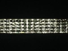 Car Park ([klauspeter]) Tags: munich münchen flughafen aiport carpark parkingdeck parkhaus nacht night nächtlich dark klauspeter juli july 2017 iphone
