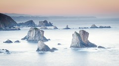Costa de Asturias (dabitxiki) Tags: 2018 amanecer asturias cantabrico costa invierno largaexposicion mar paisaje playa playadelsilencio salidasfotograficas