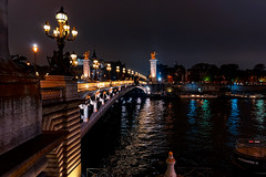 Paris night lights... (.: mike | MKvip Beauty :.) Tags: sony⍺7markiii sony⍺7iii sonyilce7m3 sonyalpha7m3 ⍺7iii ilce7m3 sonyalpha sony alpha emount fe ibis sigmafe24mmƒ14dghsm|a sigma art 24mmƒ14 handheld availablelight naturallight night nightlights water river seine boats reflections bridge pontalexandreiii lesinvalides autumn fall paris îledefrance france europe mth mkvip sigmafe24mmƒ14dghsm|art