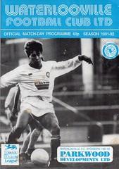 Waterlooville v Atherstone United (Havant & Waterlooville) Tags: havant waterlooville football programme