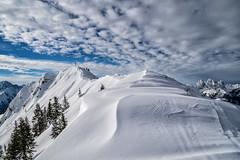 Verschneite Grat zum Koflerjoch (stefangruber82) Tags: alps alpen winter snow schnee tirol tyrol mountains berge
