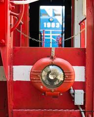 Red Caboose (Henricus) Tags: panasonic dmcgx7 lumix 42512 galveston texas galvestonrailroadmuseum red