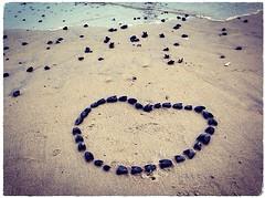 Heart Mussel (Care May) Tags: nj belmarbeach beach