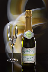Let's Get This Party Started! (lclower19) Tags: 4652 522018 bottle glass lightpainted iphone rimlight sb600 composite nonalcoholic chardonnay sparkling atsh drink odt