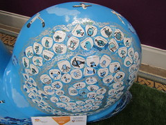 Mr Shell Blob (wallygrom) Tags: england sussex eastsussex brighton snailtrail sculpturetrail snailspace bemoresnail sculptures