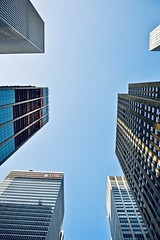 Under the sky of New York (Cecilia Mussoni) Tags: newyork building sky ny america city streetphotography street photo photographer photography nature landscape skyline view nikon perspective travel trip travelling summer
