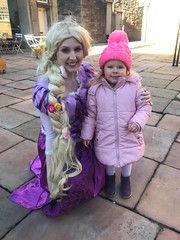 Treasure Hunt in Lancaster (Elysia in Wonderland) Tags: lancaster treasure hunt rapunzel elysia marvellous events bid shopping centre disney princess costume cosplay