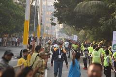 Vasai-Virar Full Marathon 2018 1st Prize Winner And Crowd