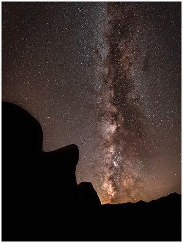 Sleeping Man Rock Milky Way