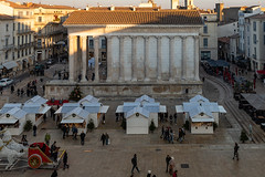 Carré d'Art, Nîmes (jacqueline.poggi) Tags: carrédart france gard languedoc languedocroussillon normanfoster nîmes occitanie architect architecte architecture musée