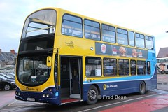 Dublin Bus VG9 (08D70009). (Fred Dean Jnr) Tags: busathacliath dublinbus pboro volvo b9tl wright eclipse gemini vg9 08d70009 capwelldepotcork january2019 cork dublinbusyellowbluelivery buseireanncapwelldepot lowemissionbustrial