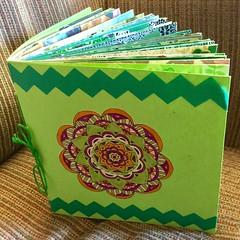March Junk Journal (stashheap) Tags: doodle green junkjournal