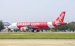 Thai AirAsia HS-ABS Airbus A320 (Kan_Rattaphol) Tags: aircraft airplane airlines airbus a320 hsabs dmk donmuangairport vtbs airasia thaiairasia fd