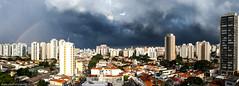 São Paulo - Storm & rain coming (Erwan Pottier) Tags: saopaulo brasil panorama panoramique barra funda água branca nuages clouds nuvens buidlings immeubles