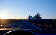 road (bluebird87) Tags: road dx0 c41 epson kodak ektar lightroom nikon f5 v600