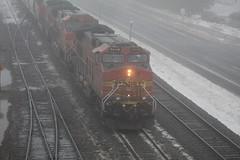 Foggy H2 (recekasten) Tags: cn bnsf gt 703 eje wisconsin railroad neenah appleton