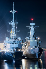 Photo of Nato Warships docked at Dundee port