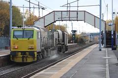 HOLYTOWN DR 98955, DR 98905 (johnwebb292) Tags: holytown motherwell diesel networkrail plant dr98955 dr98905