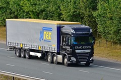 YY64 BVJ (Martin's Online Photography) Tags: daf xf truck wagon lorry vehicle f haulage commercial transport a1m northyorkshire nikon nikond7200