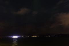 Sailing into the dark (aerojad) Tags: eos canon 80d dslr 2018 landscape vacation travel wanderlust iceland2018 iceland autumn october outdoors reykjavík reykjavik night nightphotography nightscape longexposure clouds atlanticocean ocean stars star astrophotography auroraborealis auroras aurora boat boats motion motionblur
