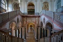 Neues Schloss Schleißheim, Treppenhaus (Jutta Achrainer) Tags: achrainerjutta fe24105mmf4goss schlossschleisheim sonyalpha7riii münchen treppenhaus