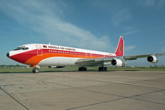 B707 (D2-TON) Angola Air Charter (boeing-boy) Tags: mikeling manston mse b707 boeingboy d2ton angolaaircharter