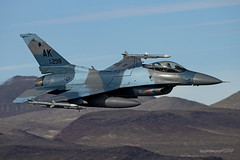 Blue Foxes (Ross Forsyth - tigerfastimagery) Tags: f16c fightingfalcon generaldynamics block50 jeditransition lowlevel california deathvalley nationalpark lowfly jets military 18th agrs 18thagrs aggressorsquadron bluefoxes aggressors