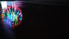 Color (lotosleo) Tags: light color pier wheel ocean night outdoor reflection atlanticcity nj beach impression steelpier