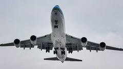 Boeing 747-8B5(F) Korean Air Cargo HL-7639 on final for rwy 17R Calgary airport (YYC) (andresjpm) Tags: rwy17r onfinal calgaryairport yyc hl7639 koreanaircargo b7478b5f b747f b7478f boeinglovers boeing