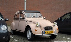 Citroën 2CV 1982 (XBXG) Tags: hn90xk citroën 2cv 1982 citroën2cv 2pk eend geit deuche deudeuche 2cv6 beige wethouder eduard polakstraat gaasperdam gein amsterdam zuidoost nederland holland netherlands paysbas vintage old classic french car auto automobile voiture ancienne française france vehicle outdoor