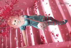 Sweet Sakura (Sakura Luna Hana) Tags: second life sweet cute kawaii dulce sakura pink rosa lightblue celeste