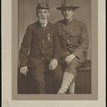 [Unidentified Civil War veteran and unidentified World War I soldier] (LOC) thumbnail