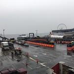Building a crane platform on the north side of Colman Dock thumbnail