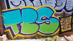 Suer & Rise: 'TBS'... (colourourcity) Tags: streetart streetartaustralia streetartnow streetartmelbourne graffitimelbourne graffiti melbourne burncity awesome burners letters original suer rise isore tbs tbscrew theblacksheep crewies colourourcity