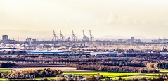 Liverpool Docks from Shaley Brow Billinge (1608leeowen) Tags: billinge shaleybrow liverpooldocks liverpool