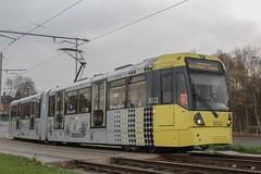 Manchester Metrolink 3022 (Mike McNiven) Tags: manchester metrolink tram metro lightrail lrv manchesterairport airport wythenshawe marketstreet victoria hollyhedgeroad m56 motorway bridge westandtogether welovemcr spiritofmcr