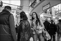 DR151004_1215D (dmitryzhkov) Tags: street life moscow russia human monochrome reportage social public urban city photojournalism streetphotography documentary people bw gum gosunivermag night lowlight nightphotography dmitryryzhkov blackandwhite everyday candid stranger