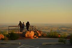 Wichita Mountain overlook on top of Mount Scott (radargeek) Tags: oklahoma 2018 august wichitamountains refuge mountscott sunset