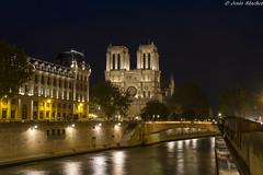Catedral de Notre Dame (jesussanchez95) Tags: catedral cathedral notredame ciudad city nocturna noche night paris iglesia church