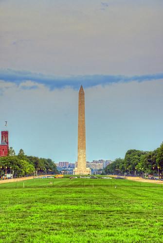 Washington Monument at sunrise