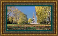 80414 Albert Memorial London 31  Oct  18  1 MB_Fsk ptg 2 bilat (call me Michael) Tags: albertmemorial london autumn