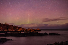 Aurora with Pink Airglow (Eskling) Tags: aurora borealis northern lights ireland orlock donaghadee codown pink airglow